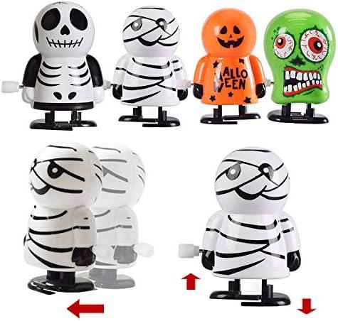 12Er Pack STOBOK Halloween Aufziehspielzeug Verschiedene Uhrwerk Spielzeug f/ür Halloween Goody Bag F/üller Party Gef/älligkeiten f/ür Kinder