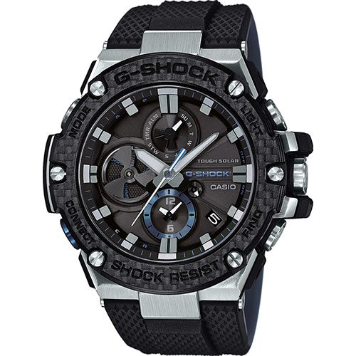 Reloj G-SCHOCK GST-B100XA-1AER - Tough Solar, Dual dial world time, Funciones de vinculación con teléfonos inteligentes: Amazon.es: Relojes