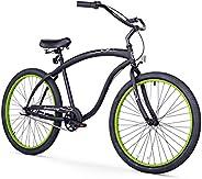 Firmstrong Bruiser Man Beach Cruiser Bicycle, 26-Inch