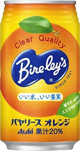 バヤリース オレンジ 350g缶×24