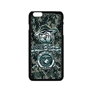 Generic Custom Extraordinary Best Design USMC(US Marine Corps) Symbol Series Plastic Case Cover for the iPhone6