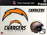 NFL San Diego Chargers NFL Team Magnet Sheet, Blue, 11″ x 8.5″ x 25″