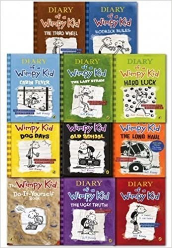 Diary of a wimpy kid collection 11 books set pack 1 11 jeff diary of a wimpy kid collection 11 books set pack 1 11 jeff kinney 9789526527604 amazon books solutioingenieria Choice Image