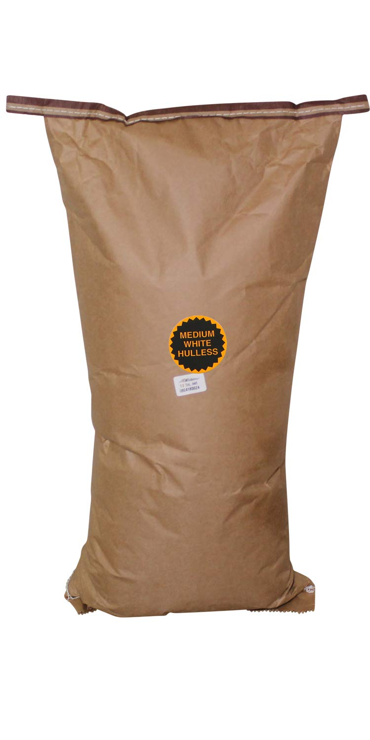 Amish Country Popcorn - 50 Pound Bag Medium White Popcorn - Perfect for Fundraisers - Old Fashioned, Non GMO, Gluten Free, Microwaveable, Stovetop and Air Popper Friendly with Recipe Guide by Amish Country Popcorn (Image #1)