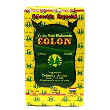 Mate tea Seleccion Esupeshiaru colon 500g