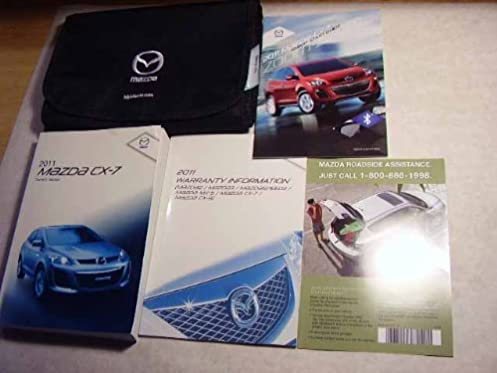 2011 mazda cx 7 cx7 owners manual mazda amazon com books rh amazon com 2011 mazda cx 7 owners manual 2011 mazda cx 7 repair manual pdf