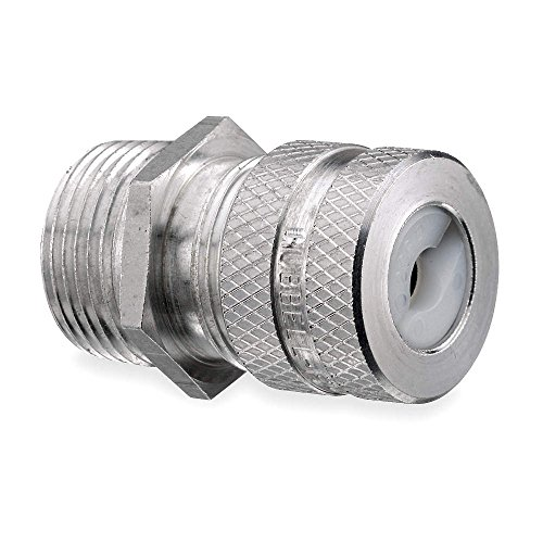 "Aluminum Liquid Tight Cord Connector, Conduit Sizex3a; 1x2f;2"", 1-29x2f;64"" Length - 1 Each"