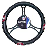 49ers OFFICIAL National Football League, Steering Wheel Cover (made to fit steering wheels 14.5 15.5)