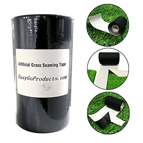 EasyGoProducts 6x49 Artificial Grass Self-Adhesive Seaming Turf Tape 15 cm x 15 Meters-6 inches x 49 feet, 6 x 49.2, Green