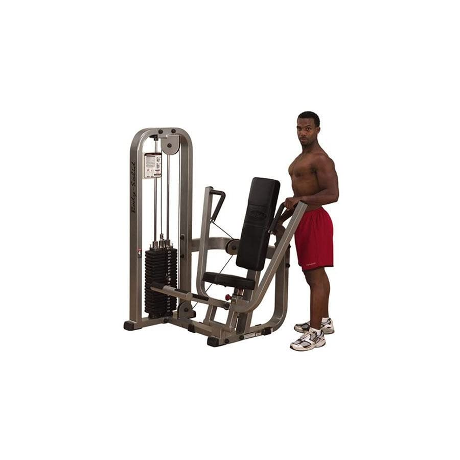 Body Solid Pro Club Line SBP100G3 Chest Press Machine with 310 Pound Weight Stack
