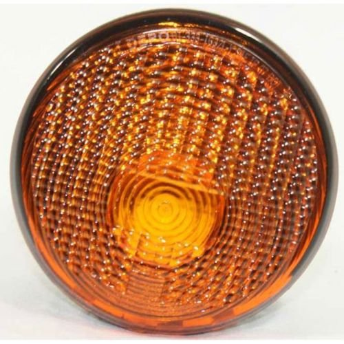 DAT AUTO PARTS Signal Parking Light Lens and HOUSING Replacement for 07-13 Jeep Wrangler Amber Lens Grille Mounted Front Left Driver Side -