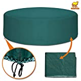 Strong Camel Patio Outdoor Garden Furniture Cover Winter Protector Round Square Table Chair Set-Green