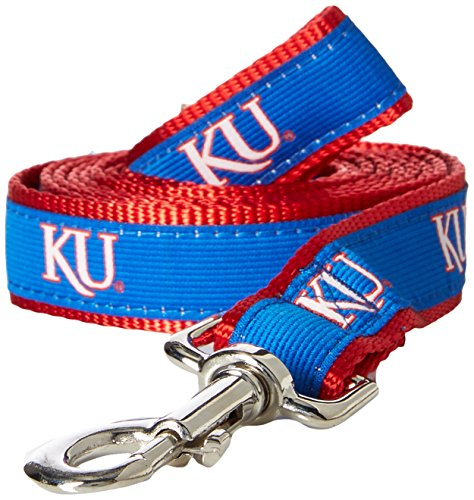 NCAA Kansas Jayhawks Dog Leash, Medium/Large ()
