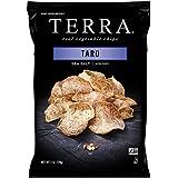 TERRA Taro Vegetable Chips with Sea Salt, 6 oz. (Pack of 12)