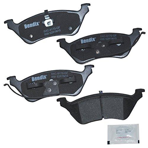 Bendix Premium Copper Free CFC858 Premium Copper Free Ceramic Brake Pad (Rear)