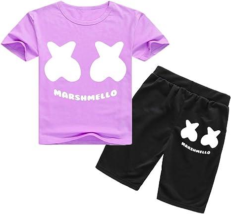 Siennaa - Chándal Deportivo para niños y niñas, Estilo Marshmello ...