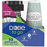 Best Dixie Lunch Boxes - Dixie To Go Disposable Paper Cups and Lids Review