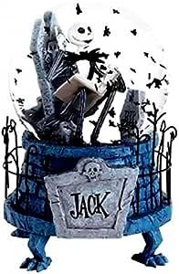 Amazon Com Disneyland Paris Jack The Nightmare Before Christmas Snow Globe Home Kitchen Дэнни элфман, крис сарандон, кэтрин о'хара и др. nightmare before christmas snow globe