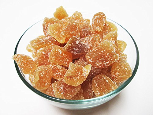 - Crystallized Candied Ginger Chunks-Unsulfured, 1 pound