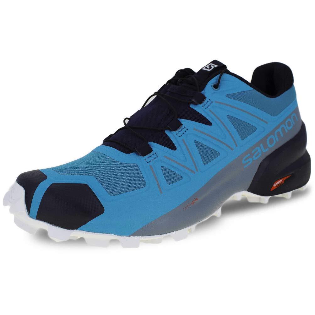 Salomon Speedcross 5 - Men's, Fjord Blue/Navy Blazer/Illusion Blue, Medium, 8.5, L40925800-8.5