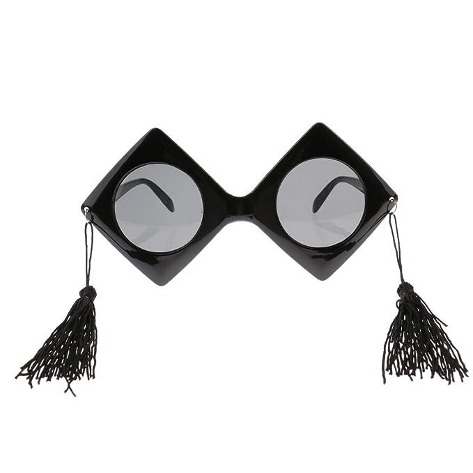 Magideal Cappello Da Sposi Tutor Trencher Master Doctor Guraduation con Occhiali Da Sole per Adulti - #1 5mNyUN