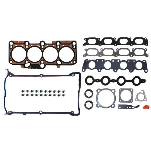 NEW EH1652X1 MLS Cylinder Head Gasket Set for Audi Volkswagen 1.8T Turbocharged (1781cc) 20-Valve Engine A4, A4 Cabriolet, A4 Quattro, A4 Quattro Avant, TT, TT Quattro, New Beetle, New Beetle (Volkswagen Turbo Exhaust Gasket)