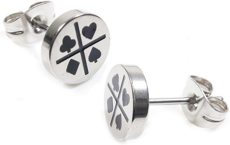 Ladybird Sterling Silver 925 Studs Earrings Carded