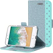 Procase iPhone SE 2020 / iPhone 8 / iPhone 7 Wallet Case, Folio Folding Wallet Case Flip Cover Protective Case