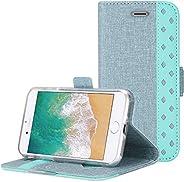 ProCase iPhone SE 2020 / iPhone 8 / iPhone 7 Wallet Case, Folio Folding Wallet Case Flip Cover Protective Case