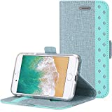 iPhone 8 / iPhone 7 Wallet Case, ProCase Folio Folding Wallet Case Flip Cover Protective Case for 4.7-inch iPhone 8 / iPhone 7, with Card Slots and Kickstand -Teal