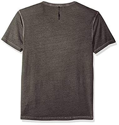 Calvin Klein Jeans Men's Short Sleeve Ckj Distressed Cold Pigment T-Shirt