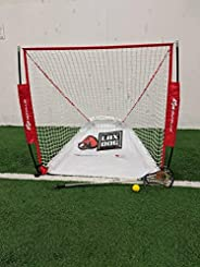 Goal Sports Innovation Lax Dog Lax Pup Lacrosse Goal Ball Return/Retriever Insert for 4'x4' and Box La