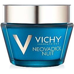 Vichy Neovadiol Night Hyaluronic Acid Face Moisturizer Compensating Complex, 1.69 Fl. Oz.