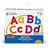Learning Resources Magnetic Letters 82 Piece Set - Alphabet Letters for Fridge