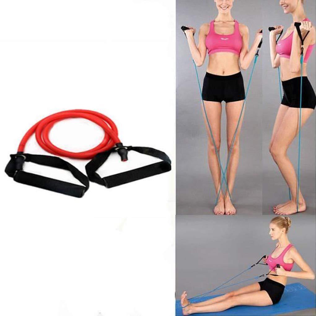 Provide The Best Yoga Fitness Corde de Traction Tirer Les Bandes de r/ésistance Musculaire Pilates entra/înement Bande /élastique Corde entra/înement Expanseur