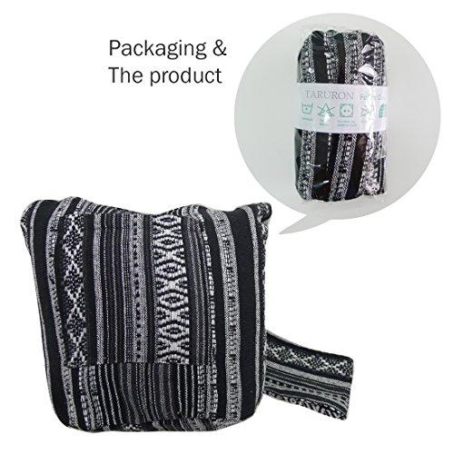 Style Festival Woven Bag Black Hippie Textile Taruron Bohemian Boho nw0qRfYYU