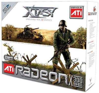 Xtasy Radeon X300 Se 256MB Pcie X400SE Hyper Memory X16 Pcie