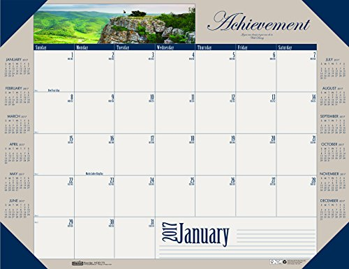 House of Doolittle 2017 Monthly Desk Pad Calendar, Motivational, 22 x 17″ (HOD175-17)