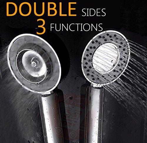 Double Sides High Pressure Handheld Shower Head...