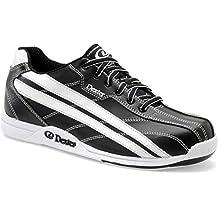 Dexter Jack Wide Width Bowling Shoes, Black/White