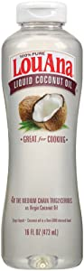 LouAna Liquid Coconut Oil, 16 oz, Great For Cooking