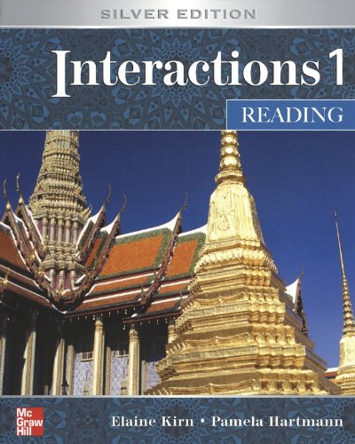 Interactions Level 1 Reading Student Book plus Key Code for E-Course
