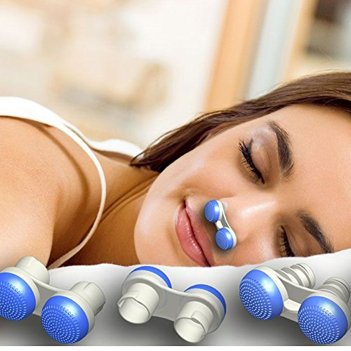 Anti Snoring Devices ,Soft Silicone Stop Snoring Solution Nose Vents To Ease Breathing Good Sleep Air Purifier (Upgrade 3 stylers Including 7pcs in a box,New Tongue Anti Snoring)