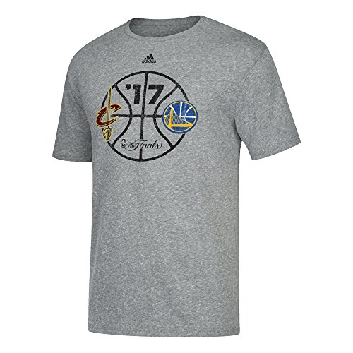 s Men's Finals Roundball Short Tri-Blend Tee, X-Large, Dark Grey Heathered ()