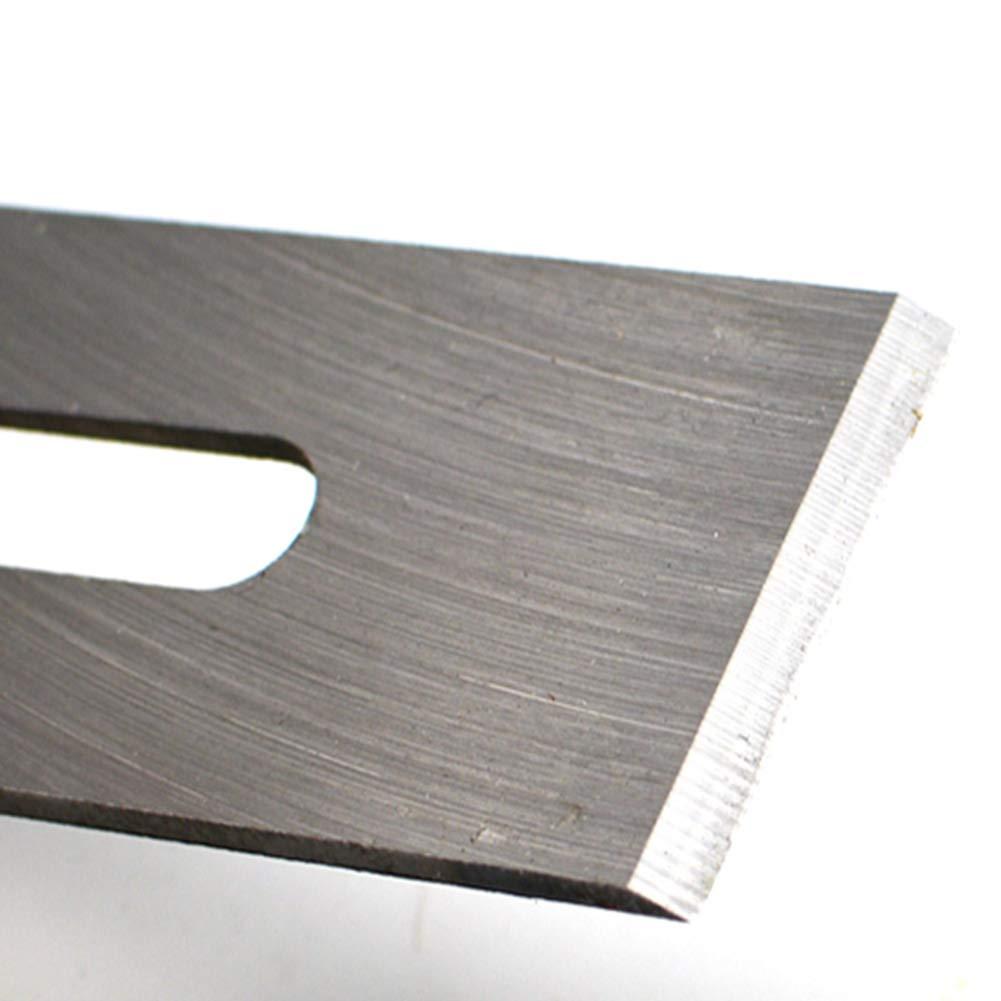 petit bloc Avion /à main r/églable plan de coupe raboteuse en bois portative pour projets de coupe construction de mod/èles de charpentier-bricolage 2 pi/èces