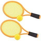 Aevdor Kid Tennis Racket with Balls for Child Outdoor Sport,Comfortable Handle & Soft Tennis