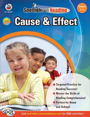 - Cause & Effect, Grades 3 - 4 (Spotlight on Reading)
