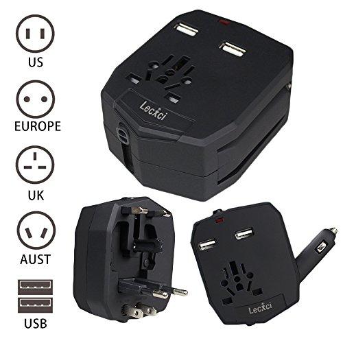 Lecxci Universal Adaptor International Australia