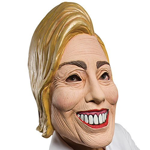 Hillary Clinton Deluxe Latex Full Mask Political Halloween Costume Accessory