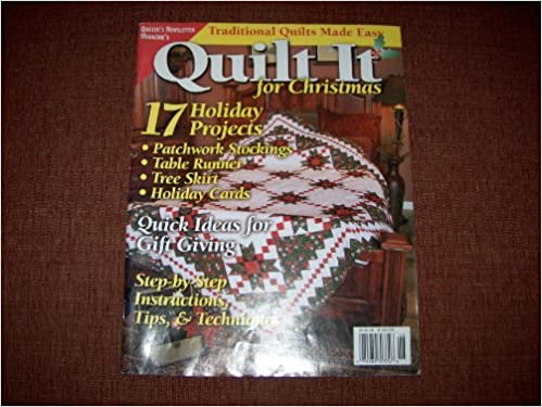 Quilting} Quilt It for Christmas {From} Quilter's Newsletter ... : quilt it for christmas magazine - Adamdwight.com